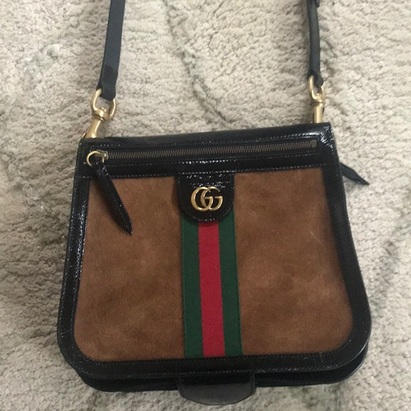2c67ba14a28f Gucci Bags | Ophidia Crossbody Leathersuede Bag | Poshmark